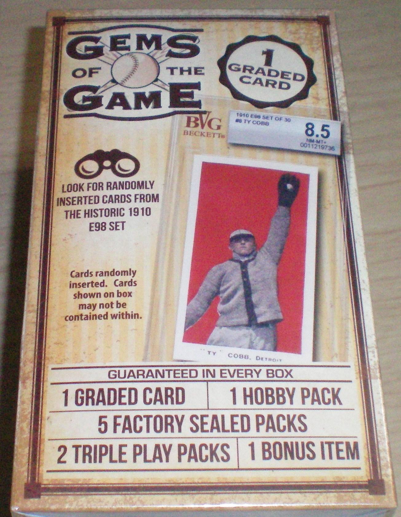 Gems Of The Game Box Break Dpmsportcards Blog